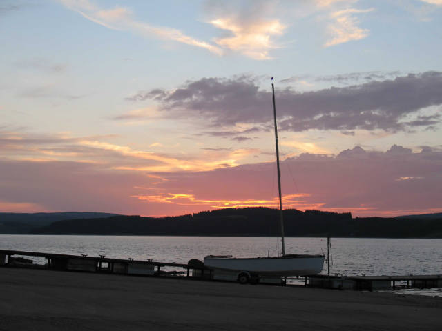 A typical Kielder evening