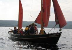 Drascombe Longboat at KWSC